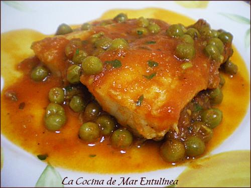 La cocina de mar entul nea bacalao con tomate - Bacalao fresco con tomate ...