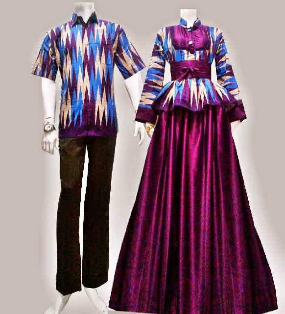Model Baju Batik Gamis Motif Rang Rang Batik Bagoes Solo