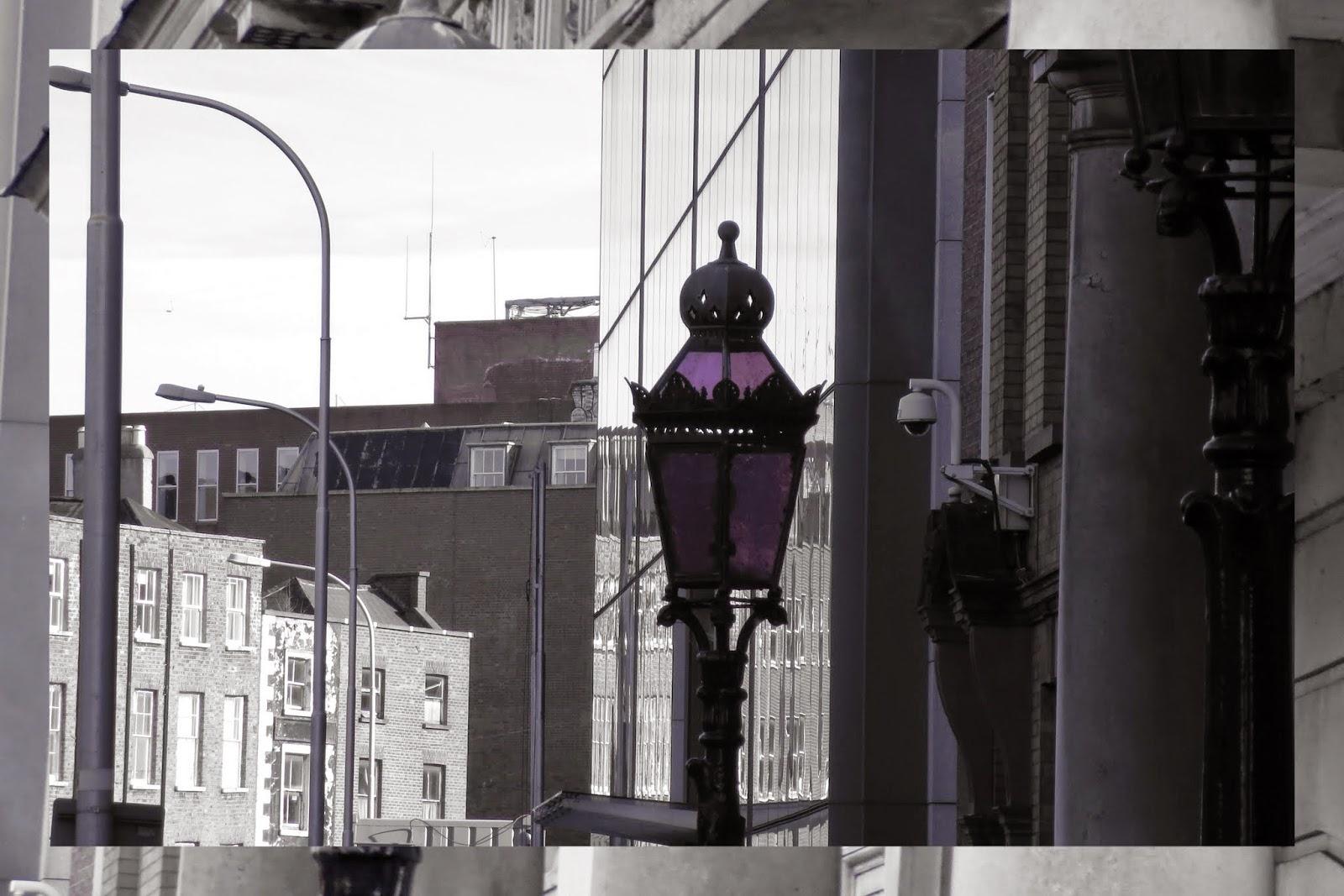 Iveagh House - Purple Lamps