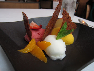 Sorbet at Ame in SF