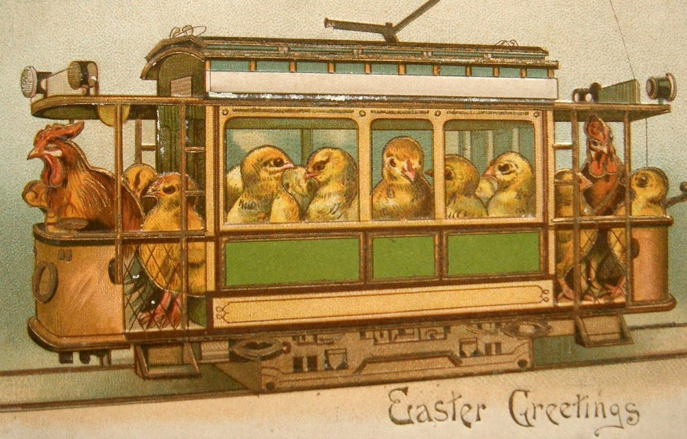Easter Wishes Vintage Postcard - Puzzles-Games.eu - puzzles games
