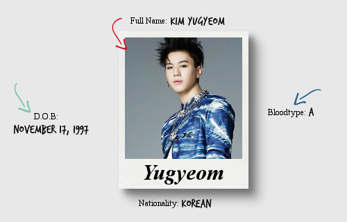 profil yugyeom got7