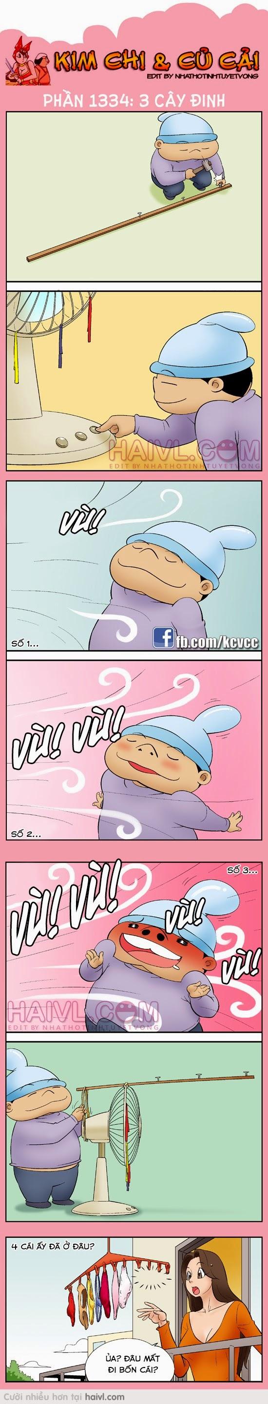 Truyen Tranh hai Han Quoc Kim Chi va Cu Cai