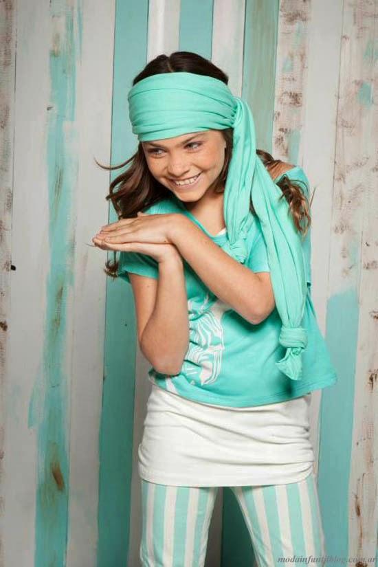 ropa de moda niñas primavera verano 2014 ancleta