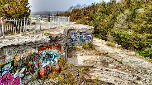 Fog at Fort Wetherill