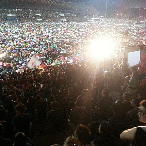 akhbar malaysiakini jumlah orang yang hadir melebihi 50000 orang