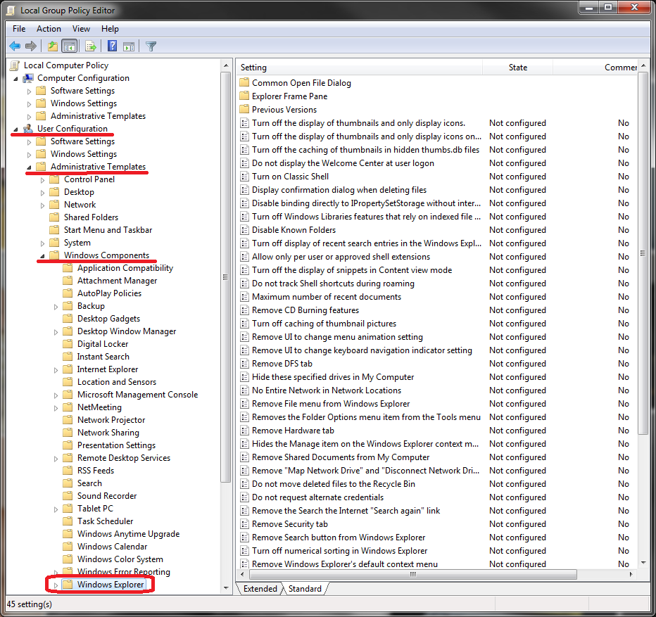 how to turn off hidden files