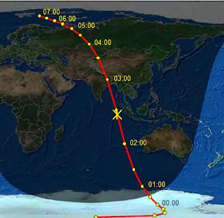 Asteroid 45 meter lintasi bumi, hanya 27,000 kilometer di atas Indonesia