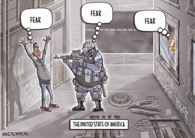 Mike Thompson: Fear.