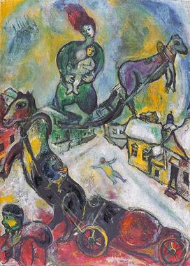 Marc Chagall - la guerre 1943