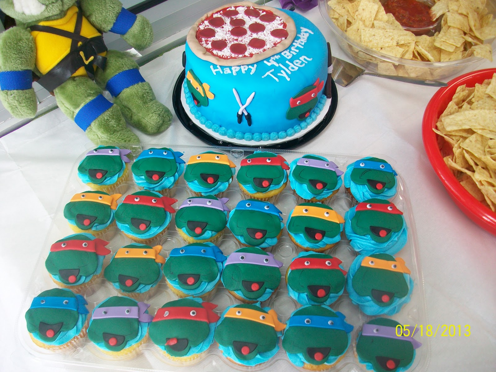 Love Planning Birthday Party's: Teenage Mutant Ninja ... - photo#9