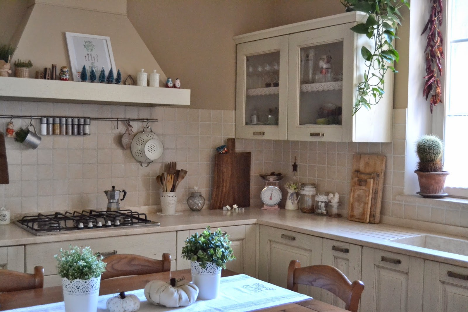 kitchen shabby chic