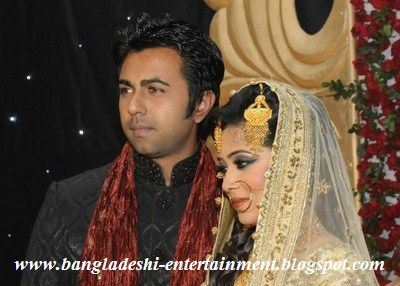 Bangladeshi Model Actor Apurbo Wedding with Nadia Hussain Aditi News