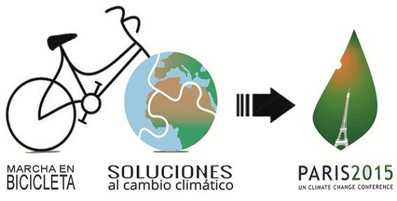 Marcha en bicicleta Soluciones al cambio climático