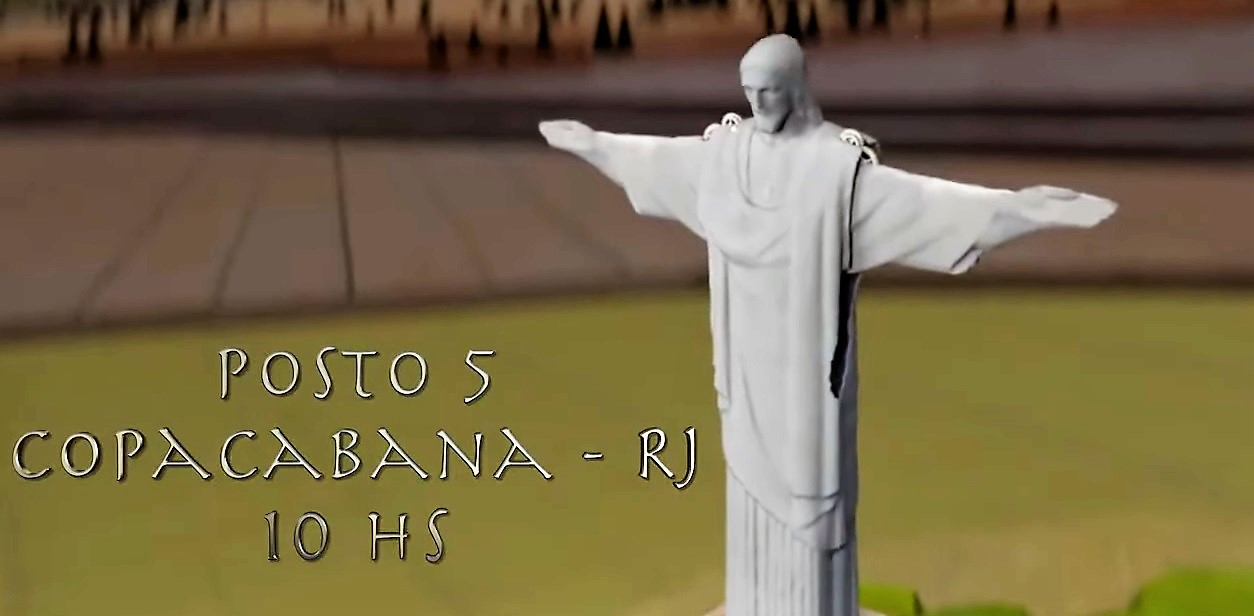 26 de maio, 10h: Rio de Janeiro
