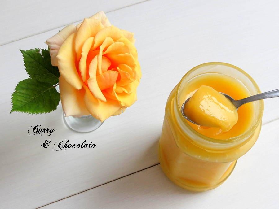 Lemon curd - Crema de limón casera para relleno de tartas