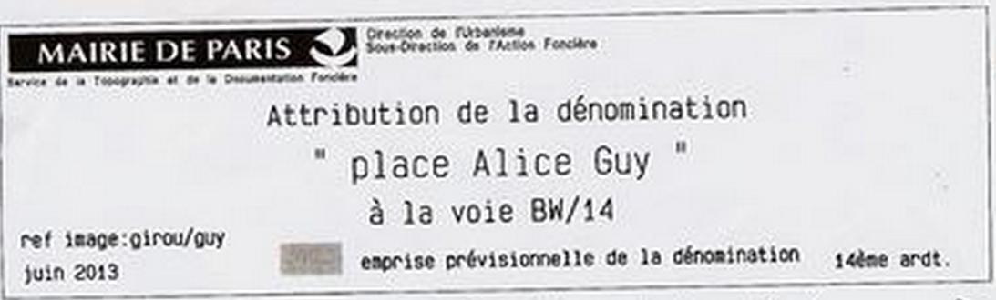 Société des Amis d'Alice Guy Blaché