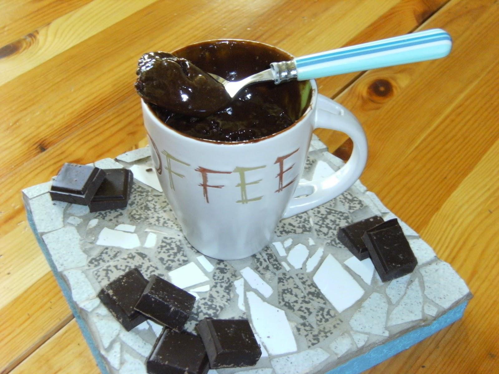 labonnecuisinedenath mug cake chocolat au micro ondes. Black Bedroom Furniture Sets. Home Design Ideas