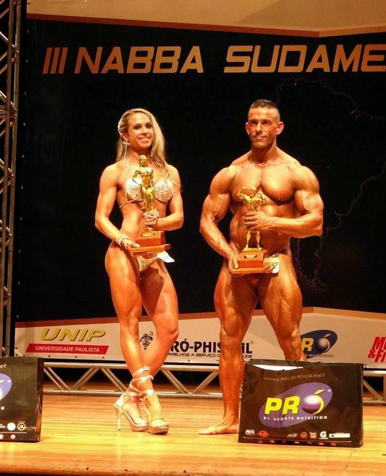 Os grandes campeões da competição: Fernanda Short e Gonzalo Lopez. Foto: Alan Azevedo