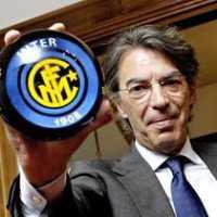 Massimo Moratti-Inter Milan president