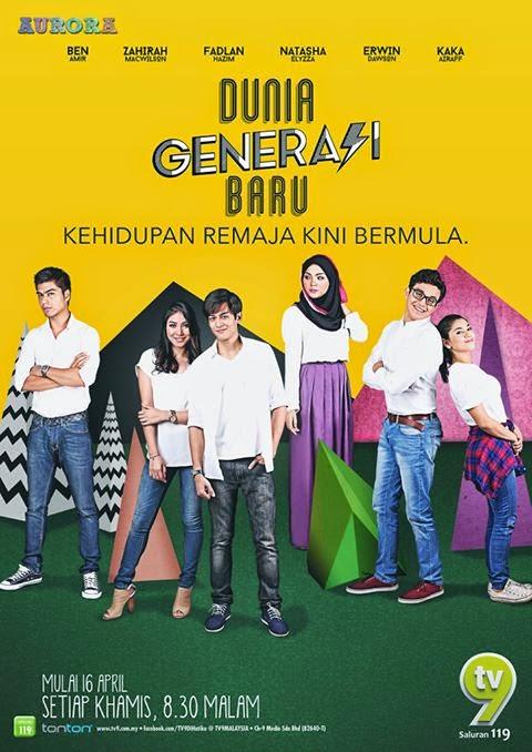 Sinopsis drama Dunia Generasi Baru slot Aurora TV9, review drama Dunia Generasi Baru, pelakon dan gambar Dunia Generasi Baru, OST lagu tema Dunia Generasi Baru, Dunia Generasi Baru episod akhir