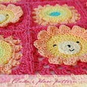 Little Lion Baby Blanket Pattern