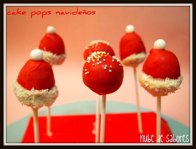 Cake pops navide os paperblog for Cobertura para cake pops