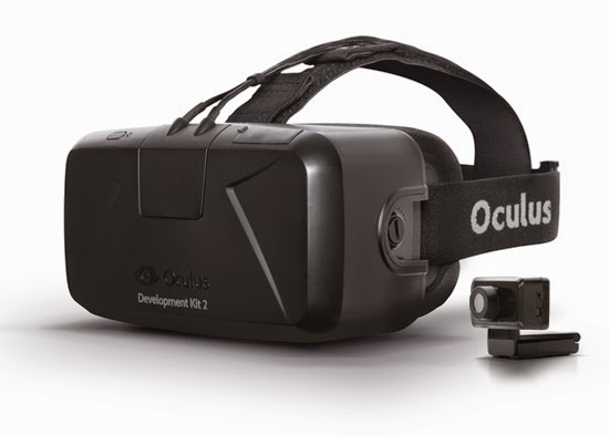 Step Into The Game By Oculus Rift Virtual 3D Gaming Headset Device