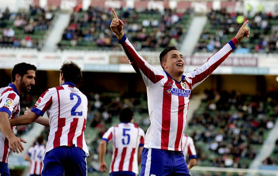 Atletico de Madrid Spanish Liga 2014