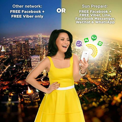 Sun Cellular TU20, TU50, TU60, TU150 Text Unlimited + Free FB Promo