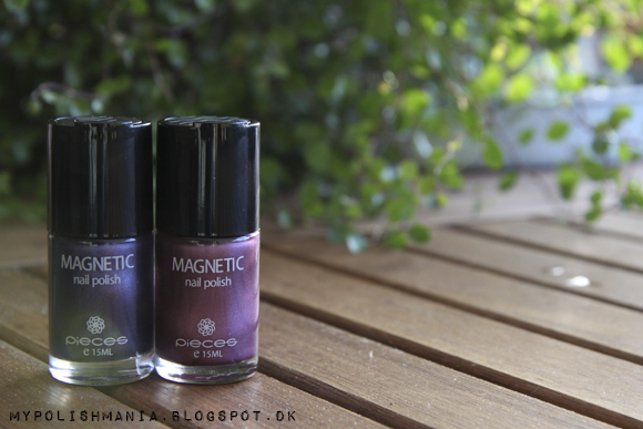 Pieces Magnetic Nail Polish: Midnight Blue + Winter Purple