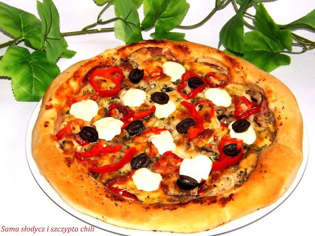 Pizza na bogato .