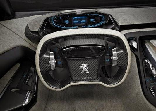 2016 Peugeot Onyx Hybrid interior