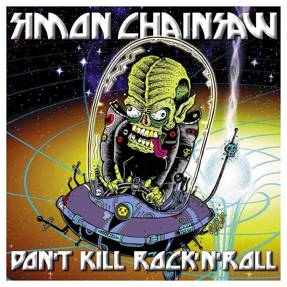 SIMON CHAINSAW: Don't Kill Rock'n'Roll (LP + Tee-shirt)