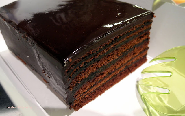 awfully chocolate super stacked chocolate cake calories