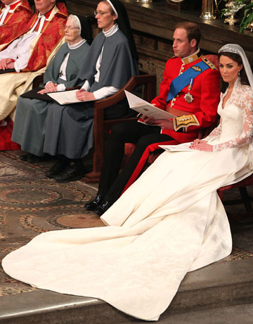 Corpse Bride Groom The Royal Wedding of William and Catherine appeared to be