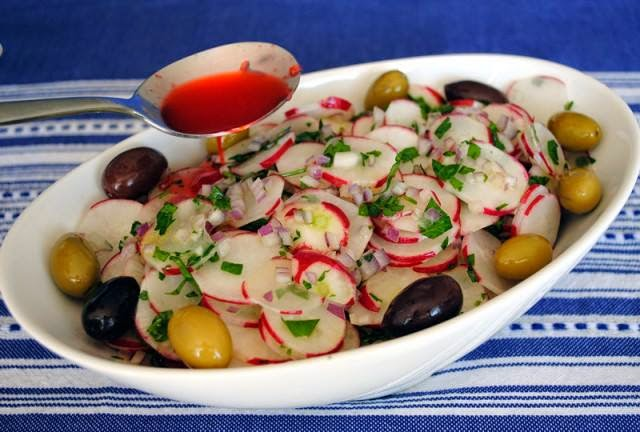 Recette du Slatet fjel (salade de radis)