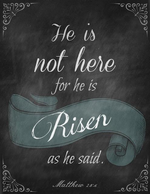 Matthew 28:6, Easter