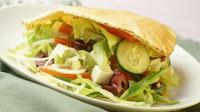 Sanduíche Grego (vegana)