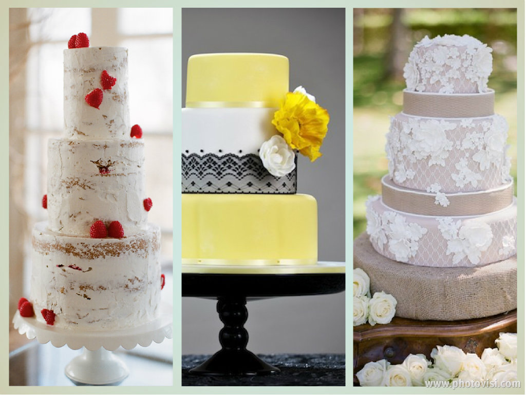 Little Wedding Stories Wedding cake Inspirations for Summer