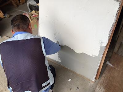 漆喰塗り壁