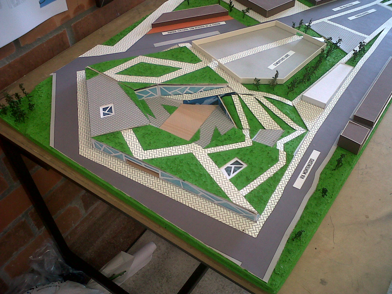 Proyectos arquitectura proyecto centro artesanal circasia for Proyectos arquitectura