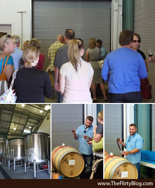 Barrel Tasting, David Herzberg, Wine Maker