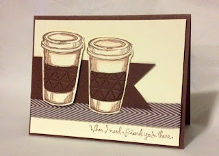Perfect Blend Hand Made Card Stampin Up Midnight Crafting