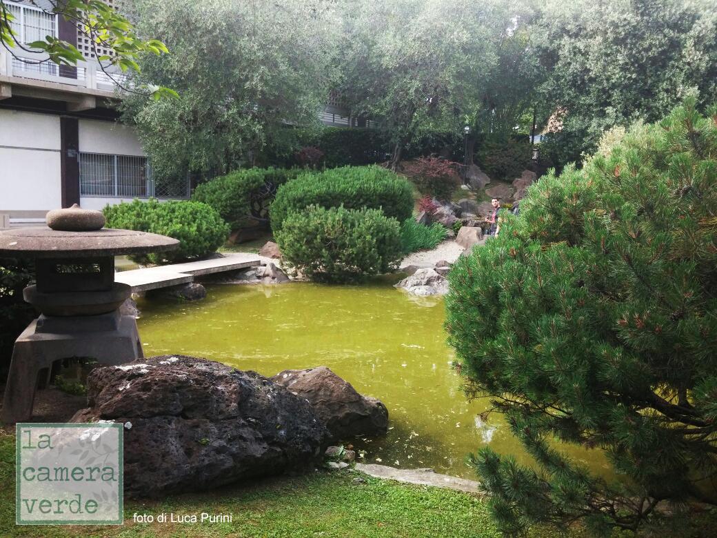 La camera verde un giardino giapponese a roma