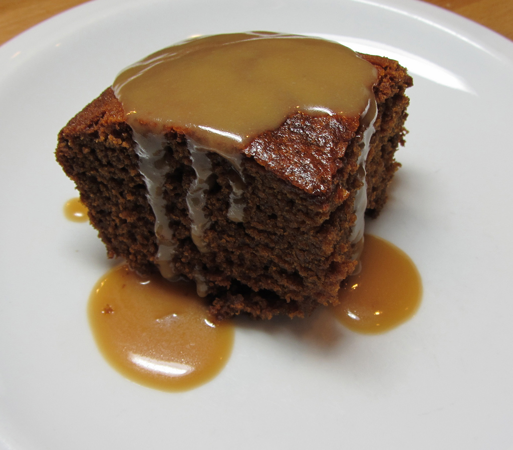 gingerbread cake warm sticky toffee pudding i realize that