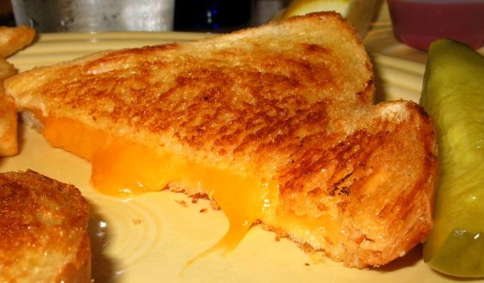 "April 12th is ""Grilled Cheese Sandwich Day"" while the whole month o..."