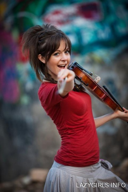 The Bloomin Couch: Lindsey Sterling, rock to violin!