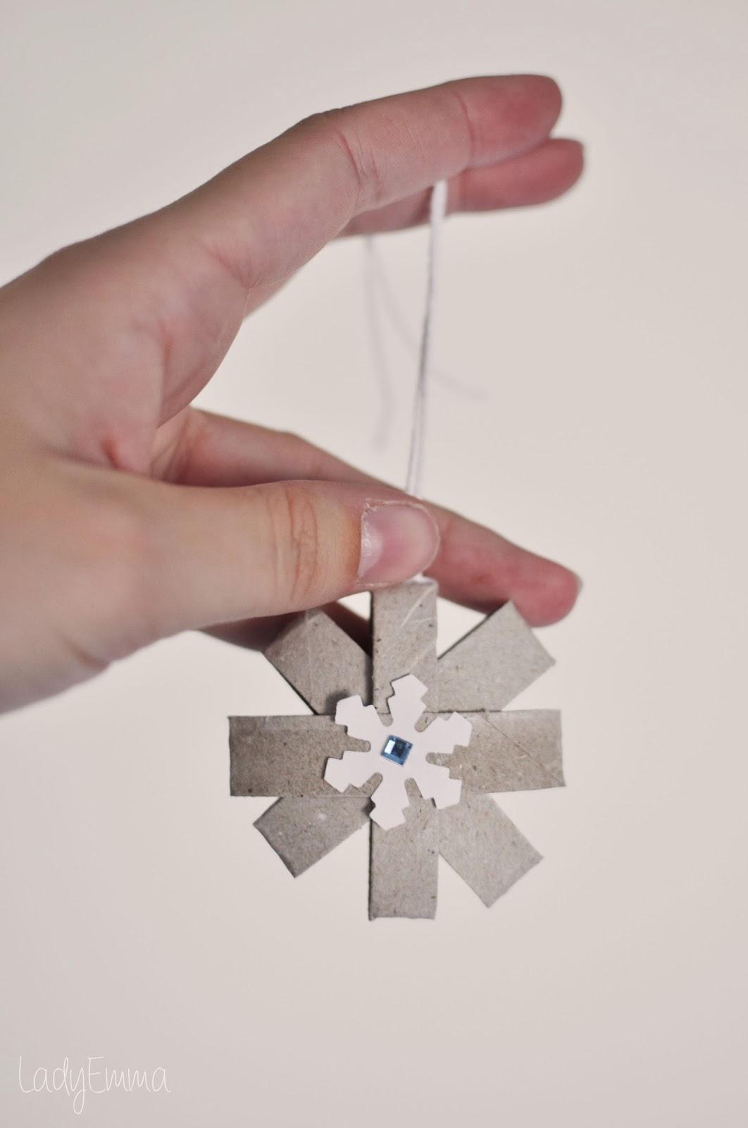 Lady emma adornos de navidad - Adornos navidenos con rollos de papel higienico ...