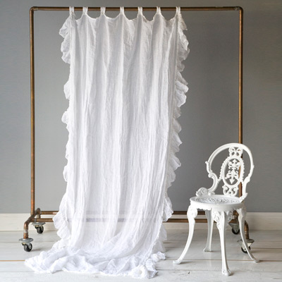 Baby Cakes Blog White Linen Drapes White Linen Curtains